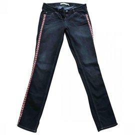 Isabel Marant Etoile-jeans-Gris anthracite