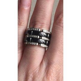 Chanel-Rings-Black