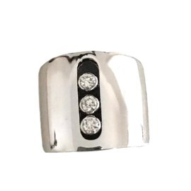 Messika-Move Joaillerie Large White Gold Ring-White