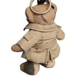 Burberry-Bijou porte-clés Thomas Bear avec trench-coat-Beige