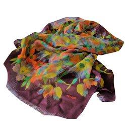 Kenzo-Etole en laine multicolore-Multicolore ... 970a9dcea4a