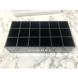 Chanel-Chanel compartment box-Black