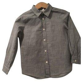 Bonpoint-chemise garçon Bonpoint-Noir,Blanc