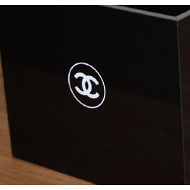 Chanel-Box 4 compartments Chanel-Black