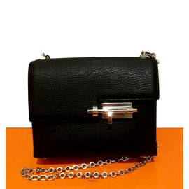 Hermès-Verrou mini-Black