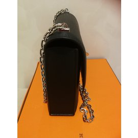 Hermès-Verrou mini-Preto