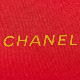 Chanel-Printed Silk Scarf-Red,Multiple colors