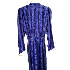 Louis Féraud-Robes-Noir,Bleu,Autre