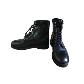Jonak-New lace-up boots-Black