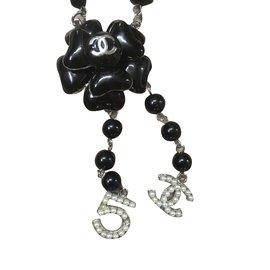 Chanel-Colliers longs-Noir