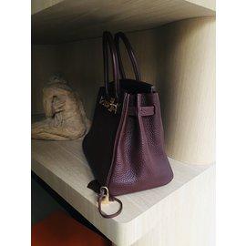 Hermès-Beautiful Hermès Birkin Bag 30, Fjord EARTH as New-Brown