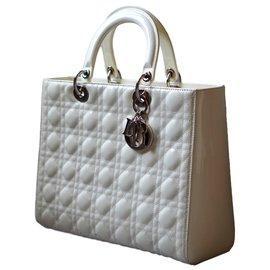 Dior-Lady DIOR-Blanc,Blanc cassé