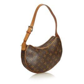 Louis Vuitton-Monogramme Croissant MM-Marron