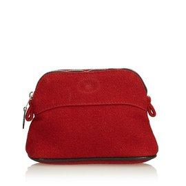 Hermès-Bolide Travel Kit-Black,Red
