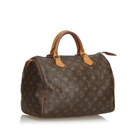 Louis Vuitton-Monogramme speedy 25-Marron