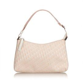 Dior-Baguette Toile Oblique-Rose