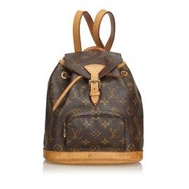 Louis Vuitton-Monogramme Mini Montsouris-Marron