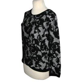 8ec364ffb5527 Escada-Angora blend pullover-Black
