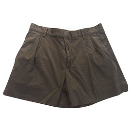 Miu Miu-Miu Miu short-Marron