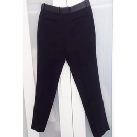 Céline-Pants, leggings-Black
