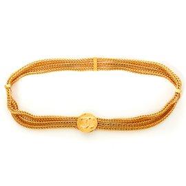 Chanel-GOLDEN PALM T70 NEW-Golden