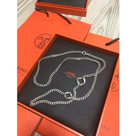 Hermès-Hermes agora long necklace-Other