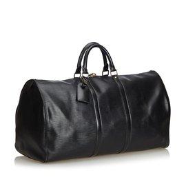 Louis Vuitton-Et Keepall 55-Noir