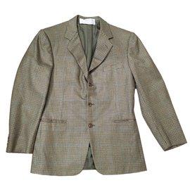 Hermès-Blazers Jackets-Green
