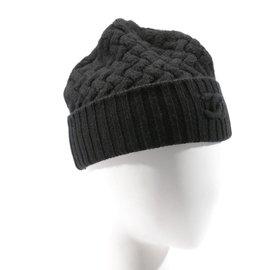 baf0bd7c Chanel-Chanel cashmere beanie-Black ...