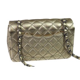 Chanel-Mini Classic-Golden