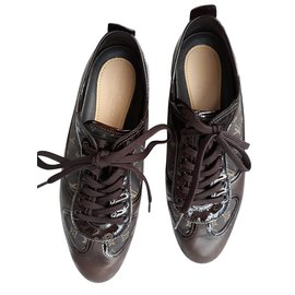 Louis Vuitton-SNEAKER-Marron
