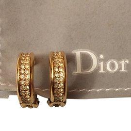 Dior-Mini Créoles Neuf-Doré