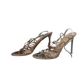 Valentino Garavani-sandals-Golden