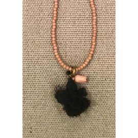Isabel Marant Etoile-Colliers longs-Noir,Rose