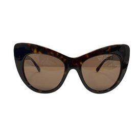 Stella Mc Cartney-Lunettes de soleil oeil de chat-Marron