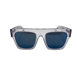 Stella Mc Cartney-Lunettes de soleil glacées-Bleu