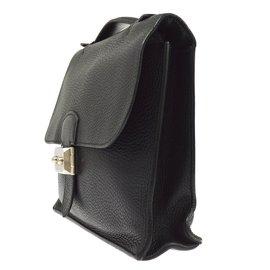 ... Hermès-Hermès Bag A Depeche 27-Black 17c0e6346882f