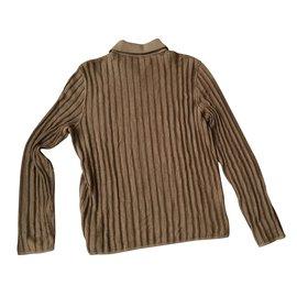 Hermès-Sweaters-Brown