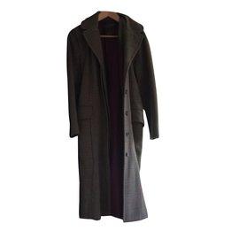 Louis Vuitton-Manteaux, Vêtements d'extérieur-Marron clair