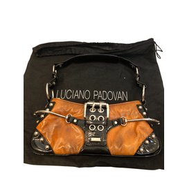 Luciano Padovan-Handbags-Brown,Caramel