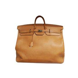 Hermès-HAC-Light brown