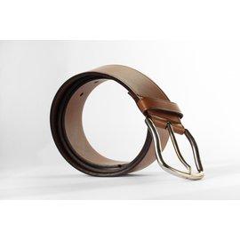 Prada-Ceinture en cuir marron Prada-Marron
