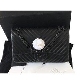Chanel-Timeless soblack-Noir