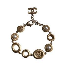 Chanel-Bracelet Chanel-Doré