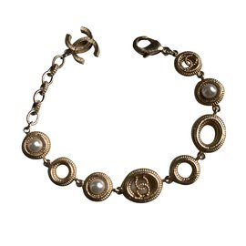 Chanel-Chanel bracelet-Golden