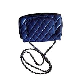 Chanel-Timeless-Bleu foncé