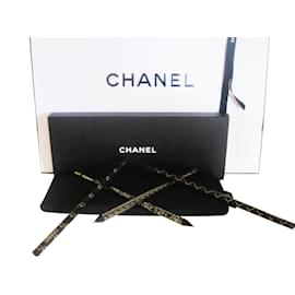 Chanel-Pencil case with Chanel pencils-Black