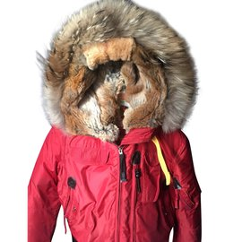 Parajumpers-Short jacket type aviator-Red