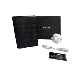 Chanel-Travel line agenda-Black