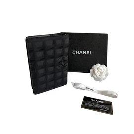 Chanel-Agenda de voyage-Noir